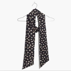 Madewell slim silk scarf in Seattle floral